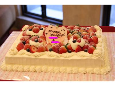 ウエディング アイテム 写真 ウエディングケーキ,生ケーキ,ナチュラル,クラシック・シンプル,ラブリー
