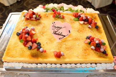ウエディング アイテム 写真 ウエディングケーキ,生ケーキ,クラシック・シンプル,ベリー,1