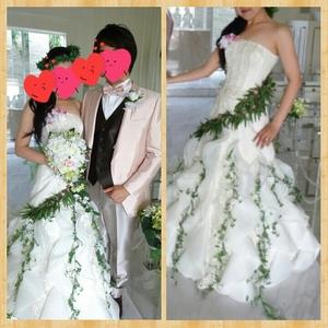 ウエディング アイテム 写真 衣装小物,コサージュ,造花,ホワイトドレス用,その他